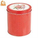 Round Metal Tea Canister (China)