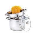 Stainless Steel Stock Pot 3 Pieces in Set (Hong Kong)