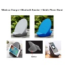 10W 3i n 1 Fast Charger Speaker Smartphone Stand (Hong Kong)