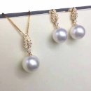 Freshwater Pearl Jewelry Set (Hong Kong)