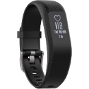 Garmin vivosmart 3 (Large, Black/Silver Buckle) (Hong Kong)
