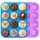 Silicone Muffin and Cupcake Baking Pan Set (China)