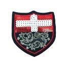 Sequin Embroidery Patch Item with Normal Embroidery (Hong Kong)