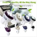 Wholesale ultrasonic essential oil cool mist car aroma humidifier with usb (Hong Kong)