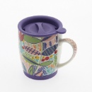 Ceramic Mug with Silicone Bottom (Mainland China)
