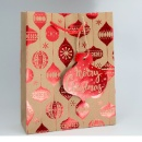 Red Foil Kraft Paper Bag (Mainland China)