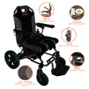 Smart WheelChair (A022-1) - Foldable Power Wheelchair with Smart Tracking System (Hong Kong)