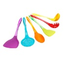 6 pieces Silicone Kitchen Utensil Set with Stand (Hong Kong)