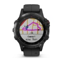 Garmin Fenix 5 Plus Sapphire - Black with Black Band (Hong Kong)
