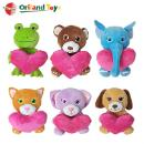 Valentine Plush Animal Heart Toys (Mainland China)