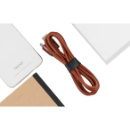 Leather Mobile Phone Charging Cable (China)