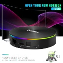 Smart Android 8.1 TV BOX Bluetooth4.0 H2.65 4K 2.4GHz/5GHz WIFI (Mainland China)