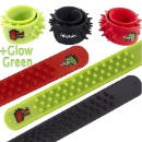 Dragon and Dinosaur Soft Silicone Spike Slap Bracelets (Set of 3) (Hong Kong)