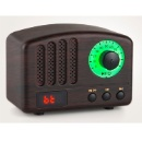 Retro Bluetooth Speaker with FM Radio Function (Hong Kong)