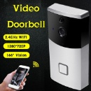 720P Battery Powered Wireless Motion Sensor Doorbell with Night Vision (Mainland China)