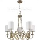 Silver Leaf Classical Chandelier (Mainland China)
