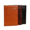 Logo Branded A5 A6 PU Leather Notebook (Mainland China)