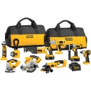 Cheapest DEWALT DCK955X 18-Volt XRP Cordless 9-Pieces Tool Combo Kit (Hong Kong)