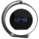 360 Rotatable LED Speaker Alarm Clock (Hong Kong)