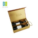 Custom Cardboard Wine Packaging Gift Magnetic Box (Mainland China)