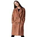 Lapel Plaid with Wool Overcoat (Mainland China)