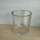 Home Decoration Thick Wall Glass Tealight Holder (Mainland China)