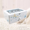 Wooden Girl's Jewelry Chest Box with Window (Mainland China)