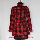 Casual Winter Outdoor Tweed Coat for Women (Mainland China)