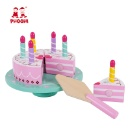 Wooden Birthday Cake Toy with Candle (Mainland China)