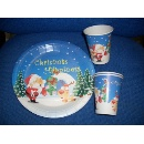 Paper Plate and Cup Set (Hong Kong)