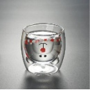 Borosilicate Glass Double Bear Cup (Mainland China)