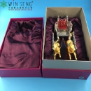 24K Gold Carriage Single Bottle Wine Rack with Box (Hong Kong)
