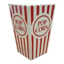 Foldable Pop Corn Paper Bowl (Hong Kong)