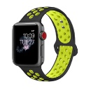 Silicone Watch Band For iWatch Apple with Adjustable Buckle  (Mainland China)