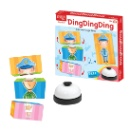 3D Board Game with Bell for Kids 5+ (kong do hong)