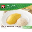 Frozen Quick Meal Sticky Rice with Mango (Thailand)