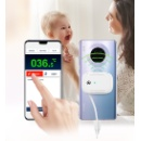 Non-contact Infrared Forehead Thermometer with Bluetooth and App  (Hong Kong)