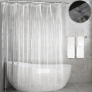 Eco-friendly PEVA Clear Shower Curtain (Mainland China)