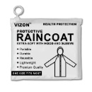 Protective Raincoat Extra-Soft with Hood and Sleeve (kong do hong)