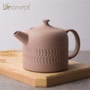 Ceramic Teapot with Tactile Pattern (Mainland China)