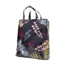 Sublimation Printing Satin PVC two Layers ShoppingTote Bag, Waterproof Fashion Style Leaf pattern Be (Mainland China)