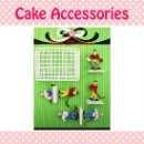 Cake Decoration Topper Set - Ice Hockey (Hong Kong)
