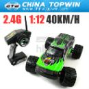 2.4G 1:12 Scale Brushed Electric Powered Monster RC Truck (China)