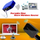 Portable Mini U Disk Storage Shared Wifi Router (Hong Kong)