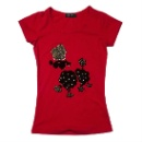 100% Cotton T-shirt For Women (China)