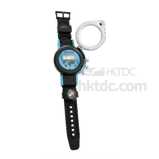 5-in-1 Mission Spy Watch  (Hong Kong)