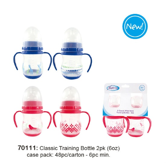 Classic Training Bottle 2PK (6oz) (Hong Kong)