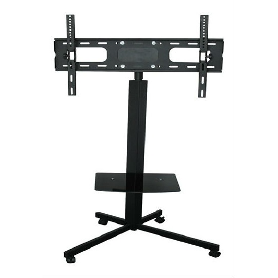 """Pro Mobile Flat Panel Stand Mount Cart Station Monitor Fair Show Display TV 32""""-65"""" (China)"""