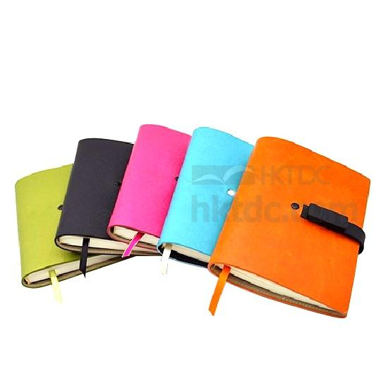 Leather Notebook with USB Flash Drive (8GB) (Hong Kong)