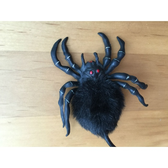 Plastic Scary Spider (Air-Pump Toy) (Hong Kong)